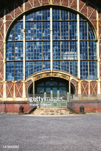 Germany, Nordrhein-Westfalen, Ruhr Basin, Dortmund, LWL Industrial Museum, Zollern Colliery : Bildbanksbilder