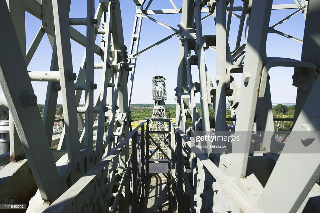 Germany, Nordrhein-Westfalen, Ruhr Basin, Dortmund, LWL Industrial Museum, Zollern Colliery : Stock Photo