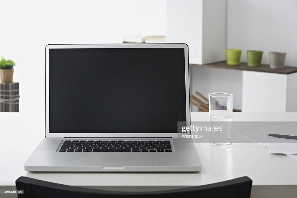 Germany, North Rhine Westphalia, Interior of home office : Stock Photo