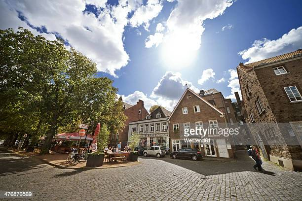 Germany, North Rhine-Westphalia, Dusseldorf, Old town of Kaiserswerth