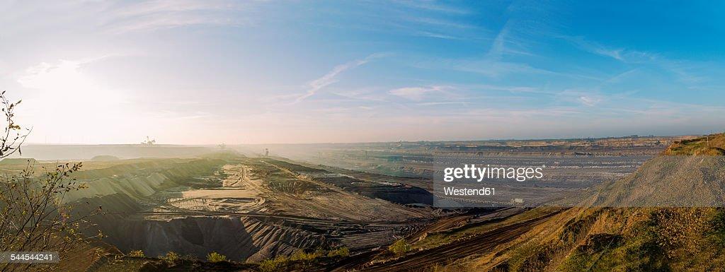 Germany, North Rhine-Westphalia, Garzweiler surface mine