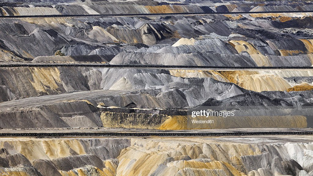 Germany, North Rhine-Westphalia, Inden surface mine, Overburden