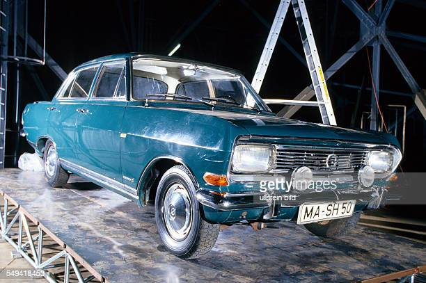 Gasometer exhibition The ball is round Sepp Herberger s Opel Record B built in 1966