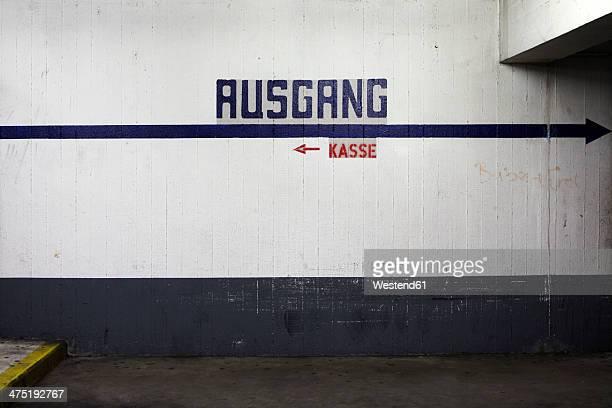 Germany, Offenbach, Underground car park