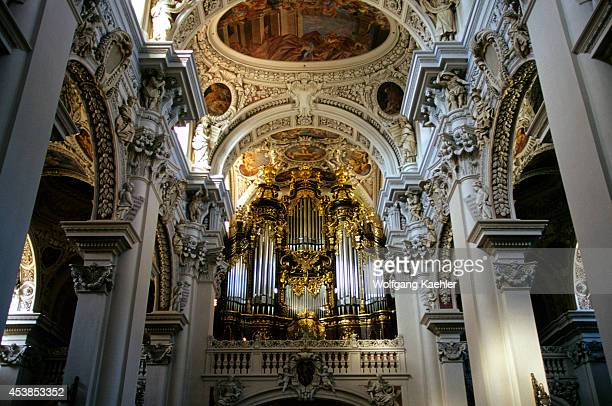 Germany Passau Cathedral Of St Stephen Interior