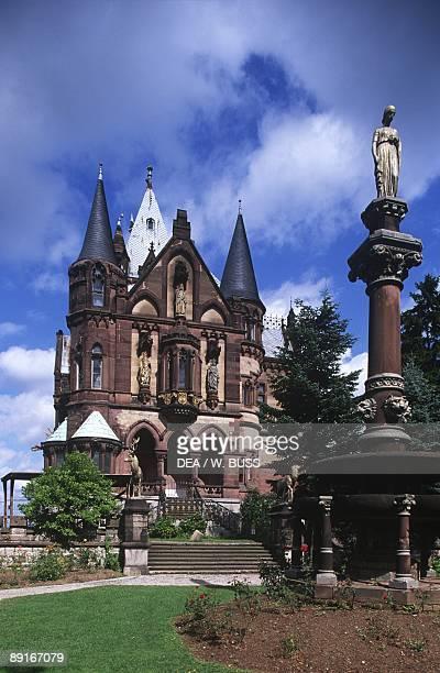 Germany Rhine Valley RheinSiegKreis Konigswinter Drachenburg castle