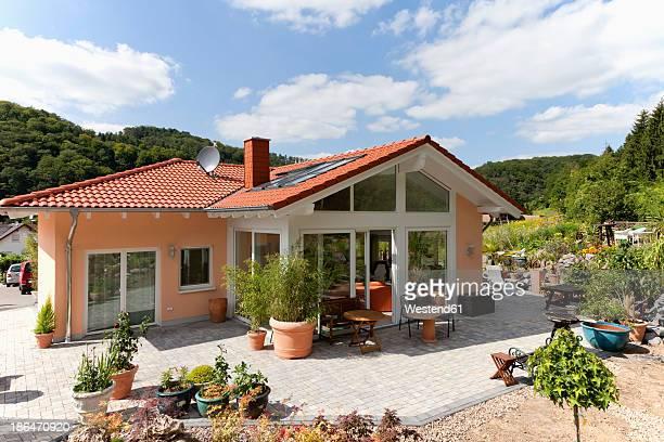 Germany, Rhineland Palatinate, View of new house