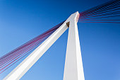 Germany, Rhineland-Palatinate, Neuwied, Raiffeisen Bridge