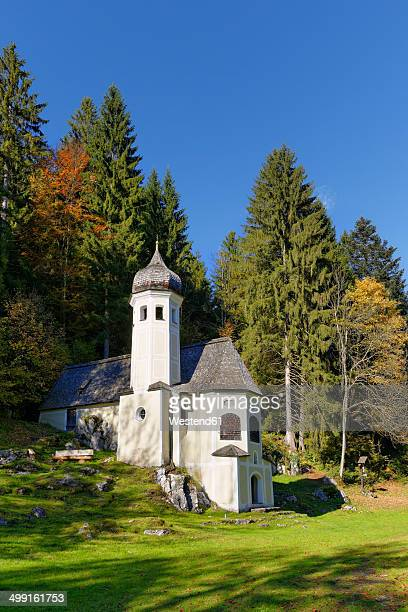 Germany, Sachrang, Mount Olivet Chapel