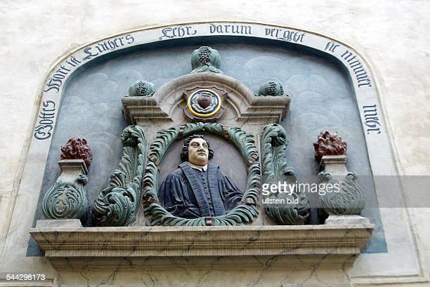 an analysis of martin luther born in eisleben germany Already in 1583, a memorial plaque was put in place at luther's birthplace that shows a full-figure likeness of luther that has been preserved to this day the building was destroyed to a large extent in a fire in the city in 1689 the city of eisleben purchased the land and built a luther memorial there.