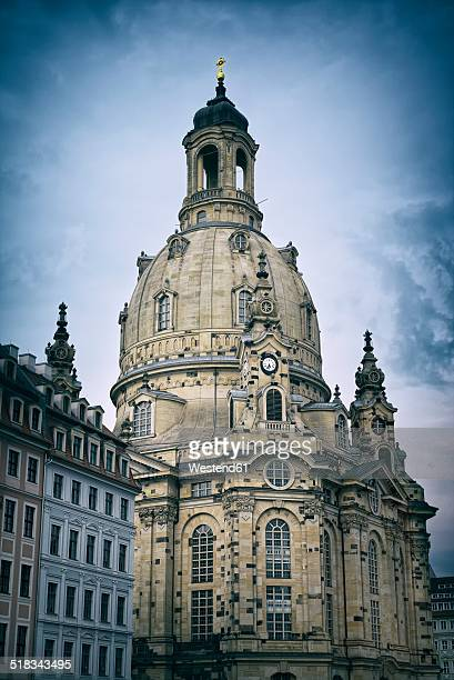 Germany, Saxony, Dresden, Church of Our Lady, Dresden Frauenkirche