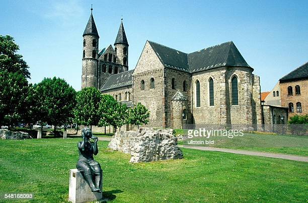 Germany SaxonyAnhalt Magdeburg Magdeburg convent church of our beloved women at the Romanesque Road