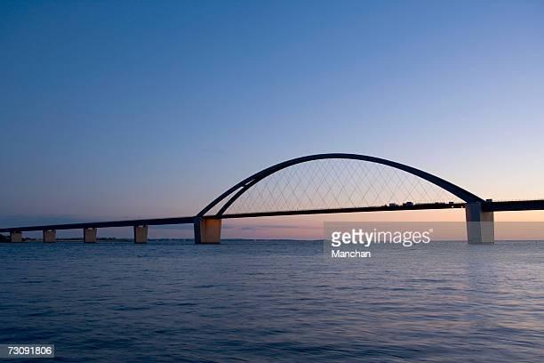 Germany, Schleswig Holstein, Fehmarnsundbruecke bridge