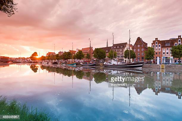 Germany, Schleswig Holstein, Luebeck, View of Harbour museum