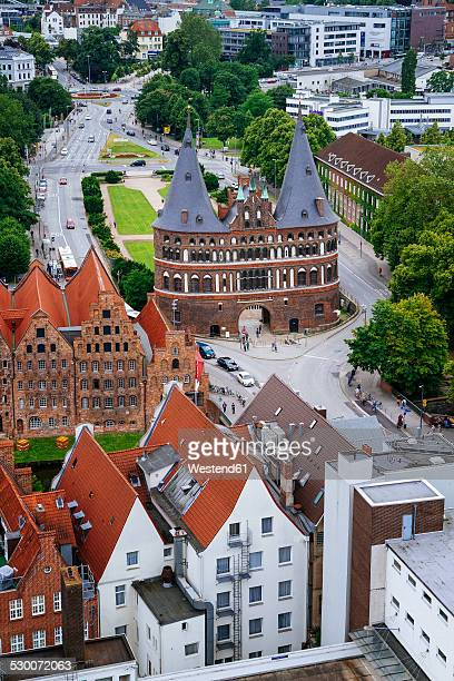Germany, Schleswig-Holstein, Luebeck, Old Town, Holsten Gate