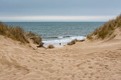 Germany, Schleswig-Holstein, Sylt, beach dune