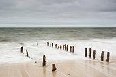 Germany, Schleswig-Holstein, Sylt, North Sea, breakwaters