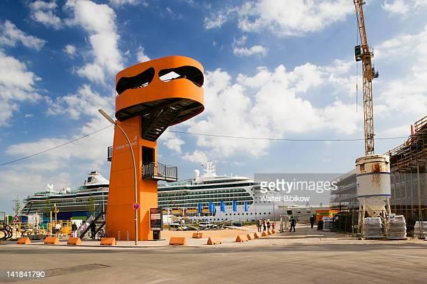 Germany, State of Hamburg, Hamburg, observation tower, HafenCity