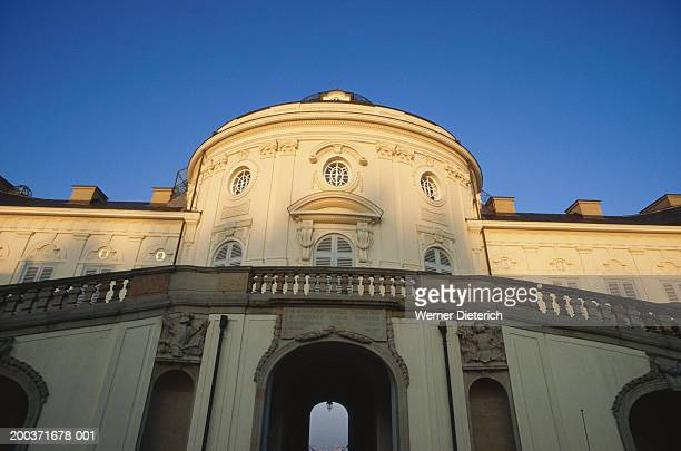 Germany, Stuttgart, Castle Solitude facade, low angle view