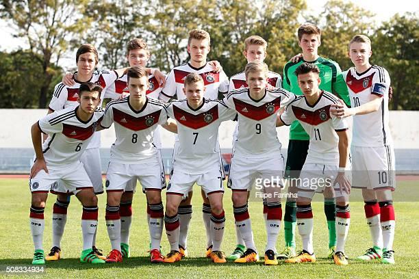 Germany team line up Andriko Smolinski Samuel Lengle Lars Lukas Mai Jan Boller Marian Prinz Erik Majetschak Sahverdi Cetin Adrian Stanilewicz Kilian...