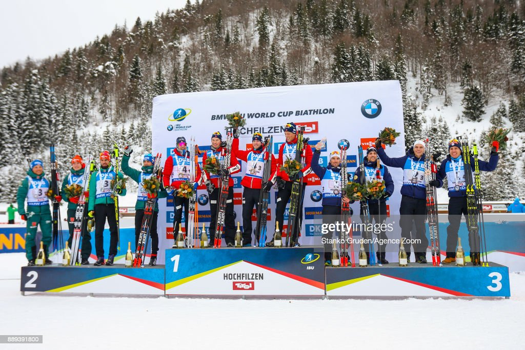 IBU Biathlon World Cup - Men's and Women's Relay
