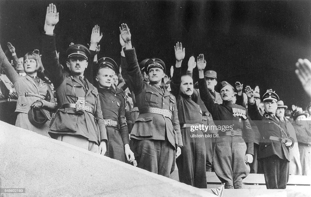 Germany, Third Reich - Nuremberg Rally 1933 British fascists ...