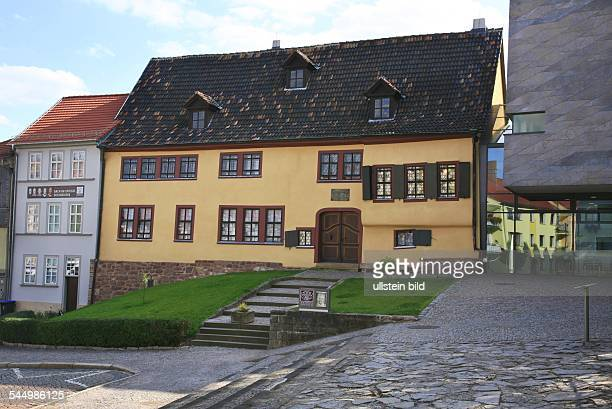 Germany Thuringia Eisenach House where Johann Sebastian Bach was born at the 'Faruenplan'