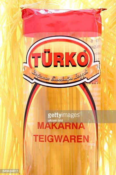 DEU Germany Turkish products on the German market spaghetti