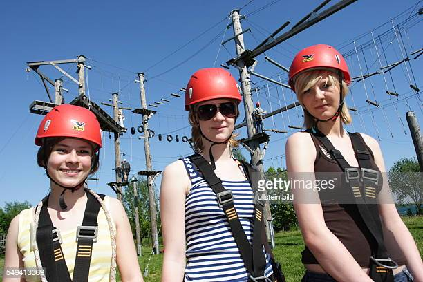 The Leisure centre Xanten FZX the High Rope Adventure Park Female visitors