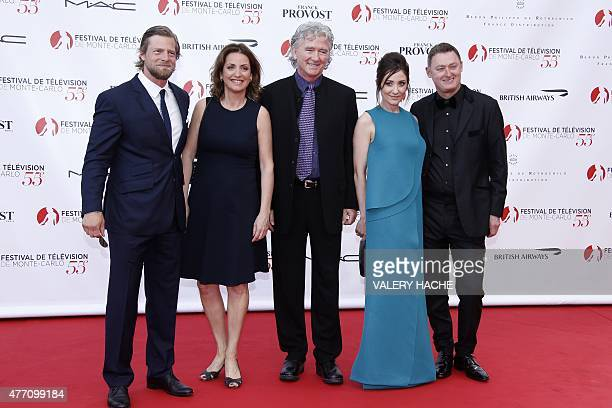 Germany's actor Henning Baum British producer Camilla Hammerich US actor Patrick Duffy Spanish actress Nathalie Poza and British producer Jeff Pope...