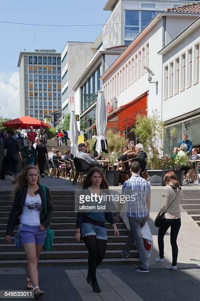 Germany's first pedestrian street