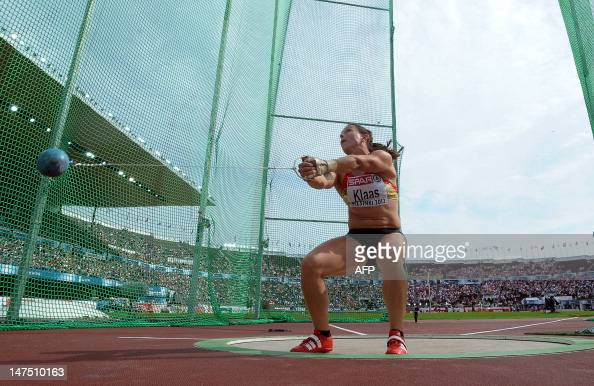 Germany's Kathrin Klaas competes in the Pictures | Getty ...