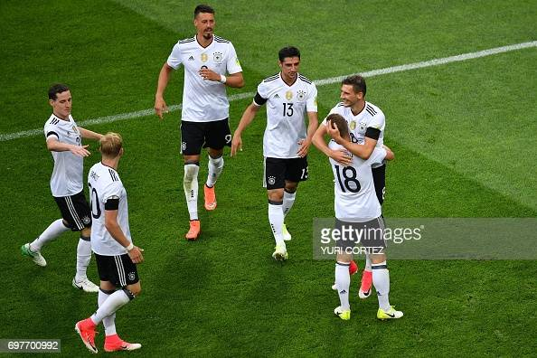 FBL-CONFED-CUP-MATCH04-AUS-GER : News Photo