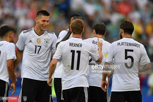 FBL-CONFED-CUP-MATCH11-GER-CMR : News Photo