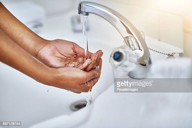 Germs and bacteria down the drain