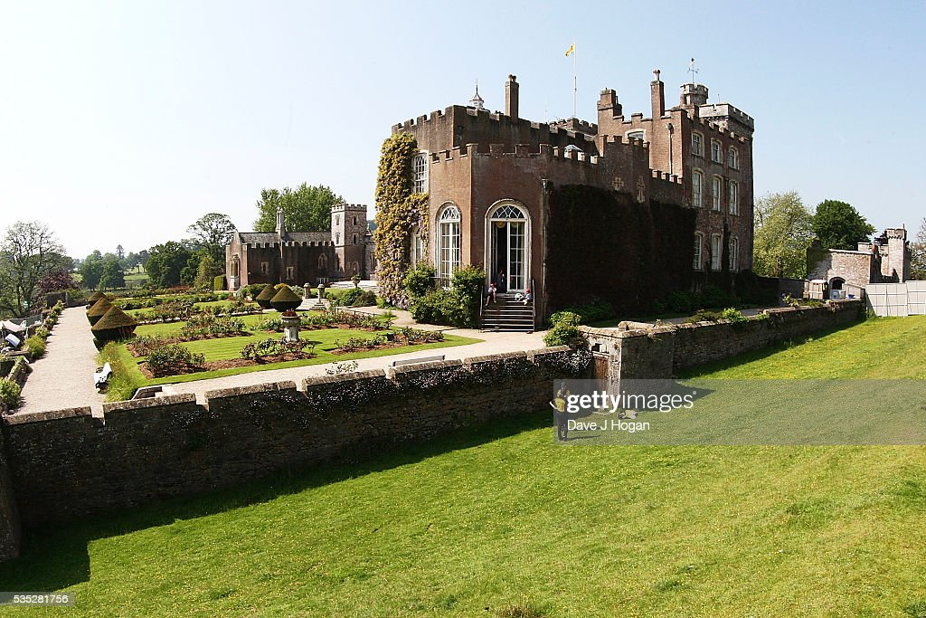 A gerneal view of Powderham Castle during day 2 of BBC Radio 1's Big Weekend at Powderham Castle on May 29, 2016 in Exeter, England.