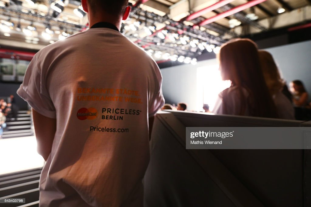 Gerneral view during the Mercedes-Benz Fashion Week Berlin Spring/Summer 2017 at Erika Hess Eisstadion on June 28, 2016 in Berlin, Germany.
