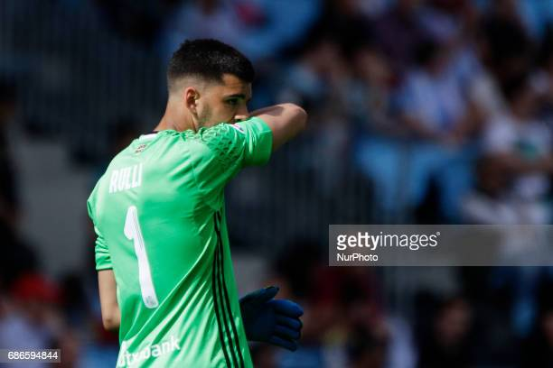 Gerónimo Rulli goalkeeper of Real Sociedad de Futbol during the La Liga Santander match between Celta de Vigo and Real Sociedad de Futbol at Balaidos...
