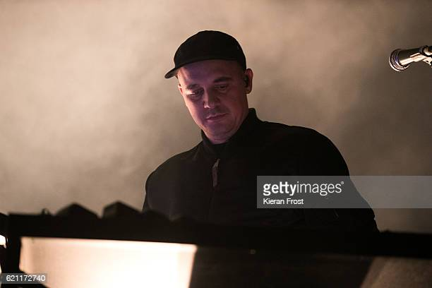 Gernot Bronsert of Moderat performs at Metropolis Festival at the RDS Concert Hall on November 4 2016 in Dublin Ireland