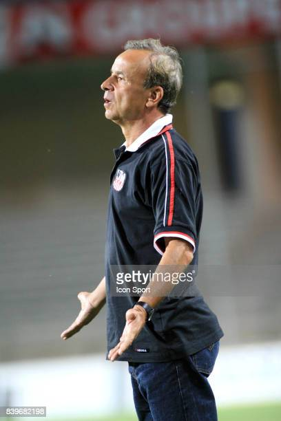 Gernot ROHR Montpellier / Ajaccio 5e journee de Ligue 2