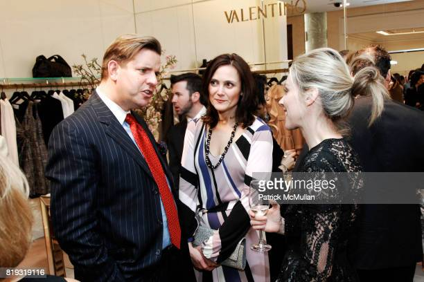 Geroge Rudenauer Allen Marino and Alexandra Lind Rose attend SAKS FIFTH AVENUE VALENTINO Host a Dinner to benefit SAVE VENICE at Saks Fifth Avenue on...