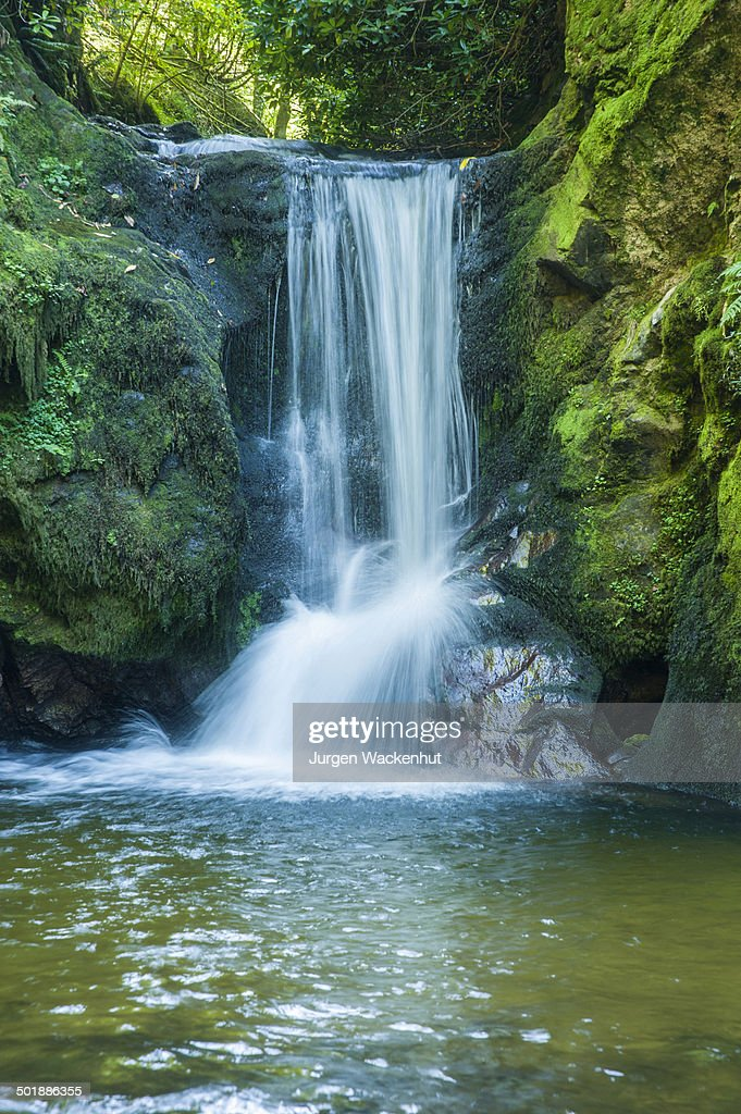 geroldsauer wasserfall waterfall schwarzwald badenbaden badenwurttemberg germany stock photo. Black Bedroom Furniture Sets. Home Design Ideas