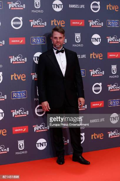 Geronimo Rauch attends Platino Awards 2017 at La Caja Magica on July 22 2017 in Madrid Spain