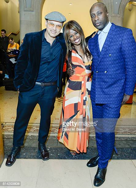 Gerry DeVeaux June SarpongOzwald Boateng at The United Nations Trust Women United Dinner supported by The LDNY Foundation and Goldman Sachs>> at...