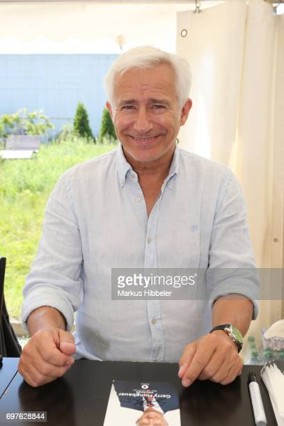Gerry Hungbauer poses during the celebration of 2500 episodes of 'Rote Rosen' on June 18 2017 in Lueneburg Germany