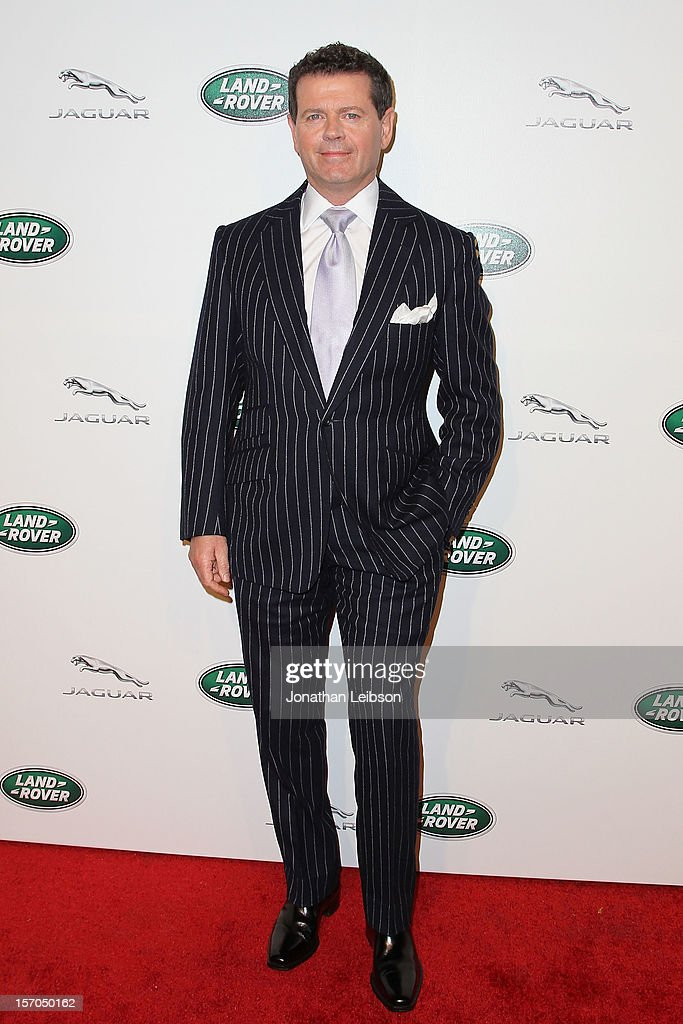 Gerry McGovern attends the Jaguar And Land Rover Celebrate 2012 Auto Show Arrivals At Paramount Studios at Paramount Studios on November 27, 2012 in Hollywood, California.