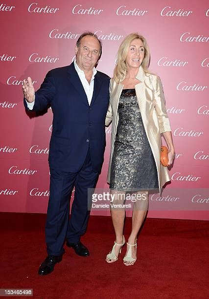 Gerry Scotti attends the Cartier Boutique reopening cocktail party on October 5 2012 in Milan Italy