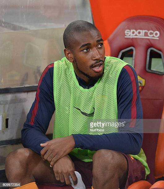 Gerson during the Italian Serie A football match between AS Roma and FC Crotone at the Olympic Stadium in Rome on september 21 2016