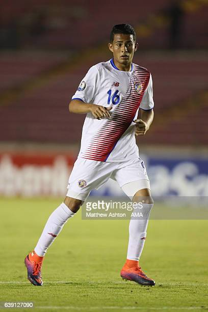 Gerson Torres of Costa Rica during the Copa Centroamericana 2017 tournament between Costa Rica and Nicaragua at Estadio Rommel Fernandez on January...