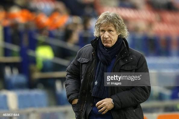 GertJan Verbeek during the Dutch Eredivisie match between Vitesse Arnhem and Willem II Tilburg at Gelredome on February 14 2015 in Arnhem The...